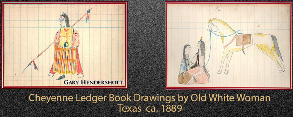 Cheyenne Ledger Book Drawings