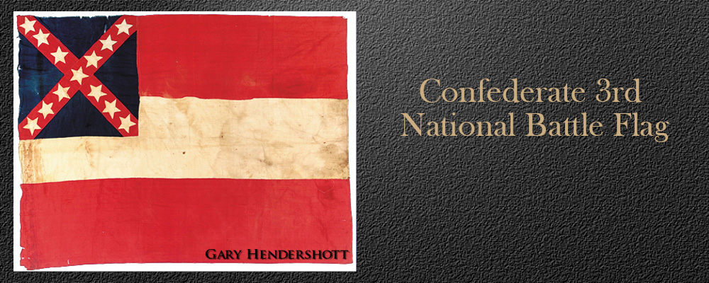 Confederate 3rd National battle flag