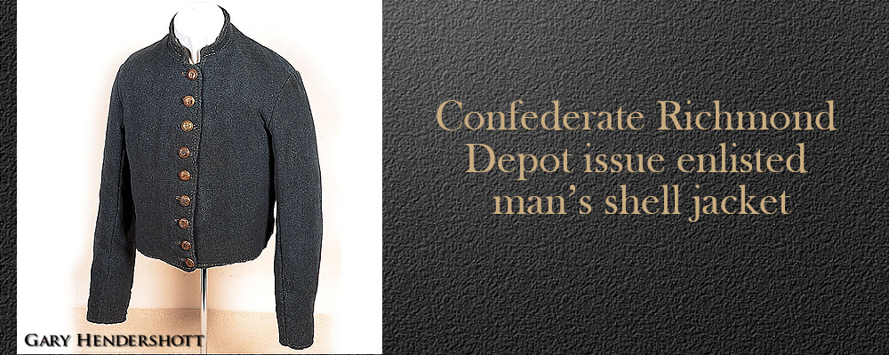 Confederate Richmond Depot shell jacket