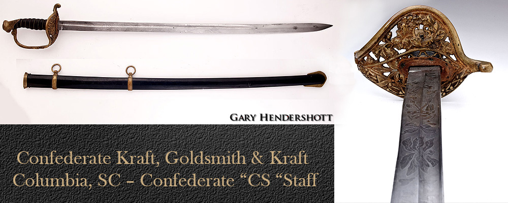 Confederate Kraft, Goldsmith and Kraft CS staff