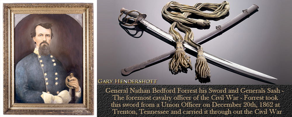 General Nathan Bedford Forrest sword