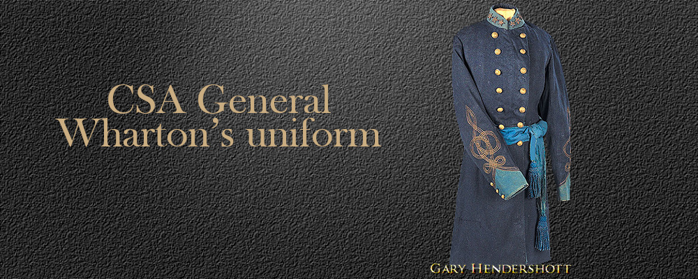 CSA General Whartons uniform