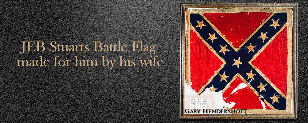 JEB Stuarts battle flag