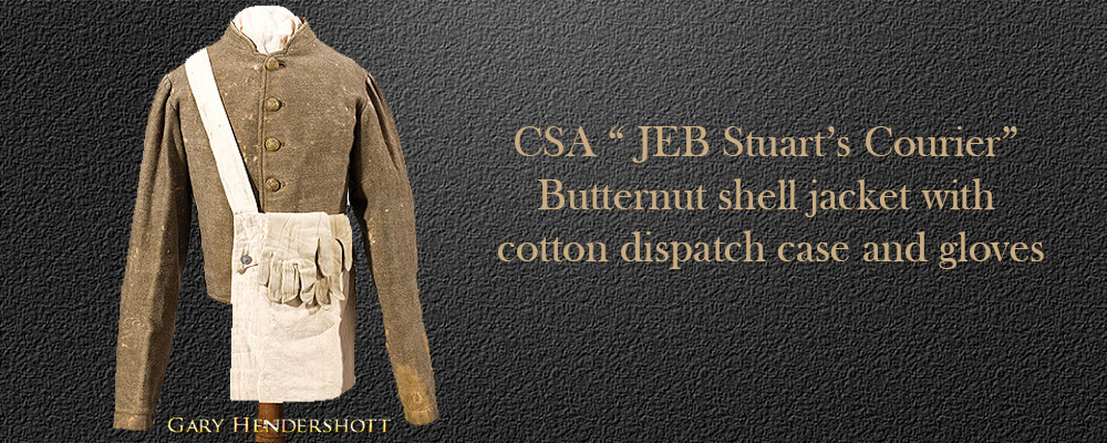 CSA JEB Stuarts Courier butternut shell jacket