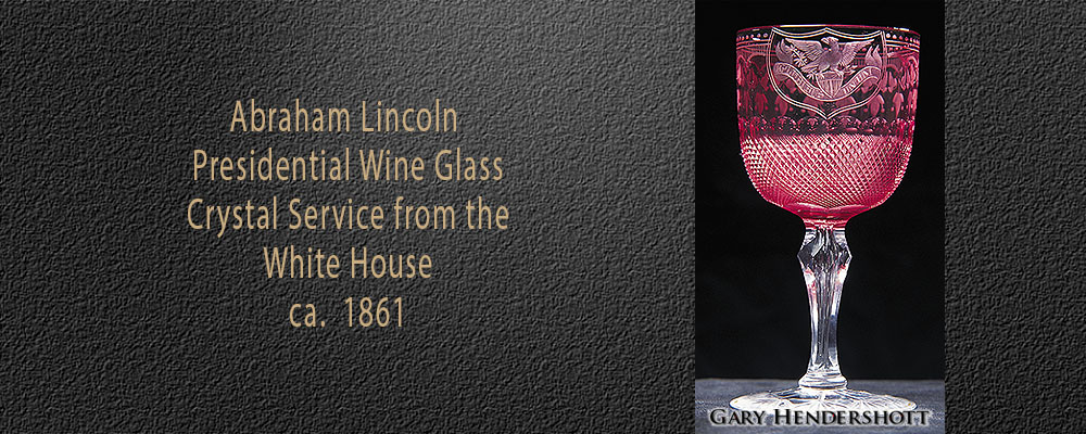 Abraham Lincoln Presidential Wine Glass