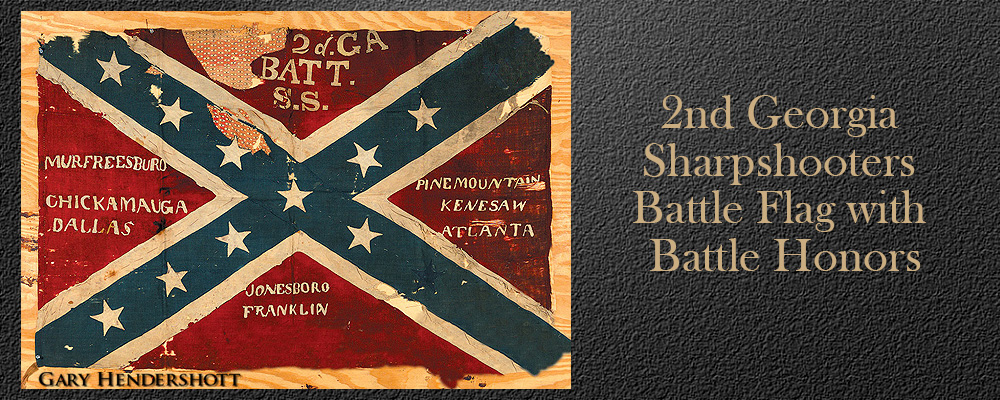 2nd Georgia sharpshooters battle flag