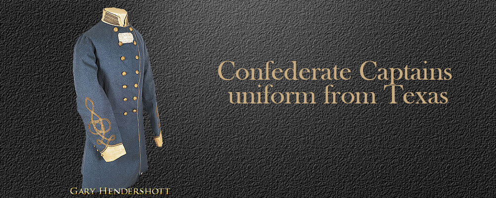 Confederate uniform from Texas