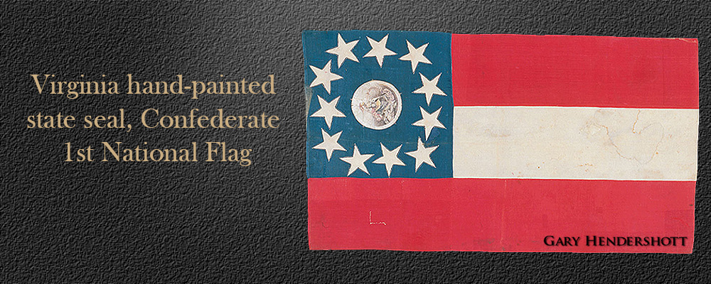 Confederate Virginia 1st National flag