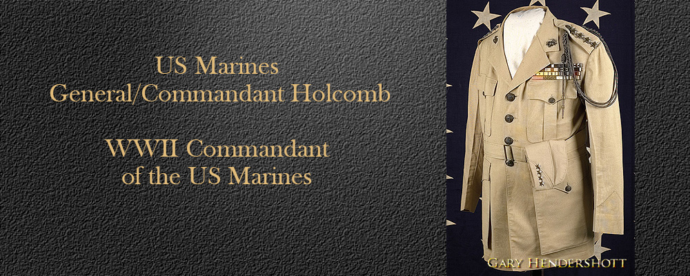 WWII Commandant of the US Marines