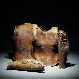 05 Greek bronze cuirass