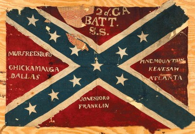 08 2nd Georgia Battle Flag
