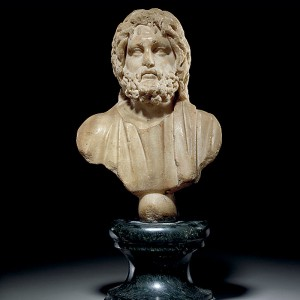 09 Roman Bust Of Serapis