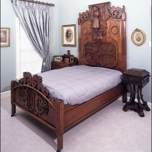 S01 hand carved bed
