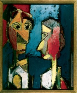 P17 'Two Heads' by Alfred Maurer